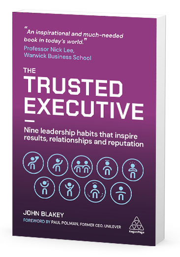 The Trusted Executive coaching book - Click to Buy 2nd edition Now on Amazon